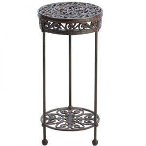 Round Cast Iron Plant Stand