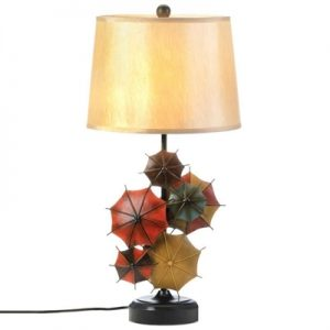 Charming Umbrella Table Lamp