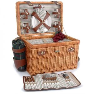 The Enchanted Evening Collection Picnic Basket & Blanket