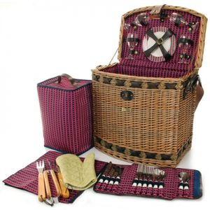 The Tuscan Elite Picnic Basket