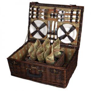 The Provence Enhanced Carrier Picnic Basket