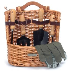 The Arbor Gardening Tools in a Basket