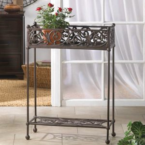 Cast Iron Rectangular Plant Stand