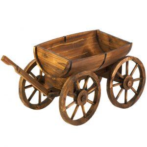 Apple Barrel Garden Wagon Planter