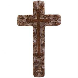 Rough-Hewn Wall Cross