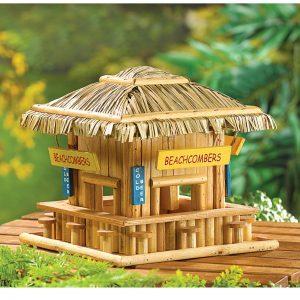 Beachcombers Tiki Bar Birdhouse