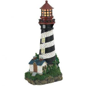 Solar Lighthouse Garden Light