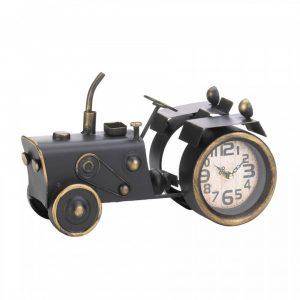 Vintage-Look Desk Clock – Old-Time Tractor