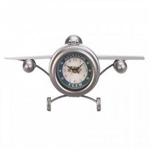 Vintage-Look Desk Clock – Aviation Club Jet