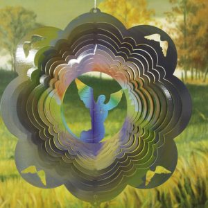 12″ Angel Wind Spinner – Swirl Printed