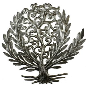 14 INCH TREE OF LIFE LAUREL LEAF – CROIX DES BOUQUETS