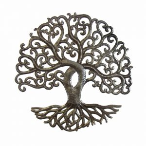14 INCH TREE OF LIFE CURLY – CROIX DES BOUQUETS