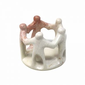 NATURAL SOAPSTONE CIRCLE OF FRIENDS – SMOLART
