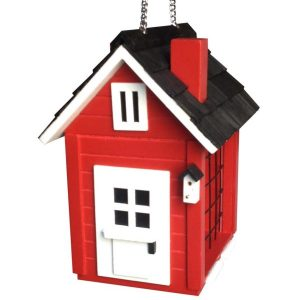 COTTAGE SUET FEEDER (RED)