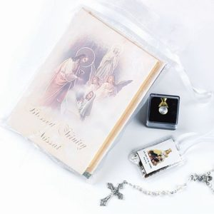 """BLESSED TRINITY"" FIRST COMMUNION SET"
