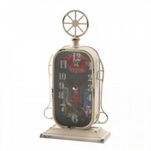 Vintage-Look Desk Clock – Gas Pump