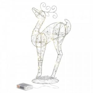 Light-Up Looking Up Reindeer Decor – 17 inches