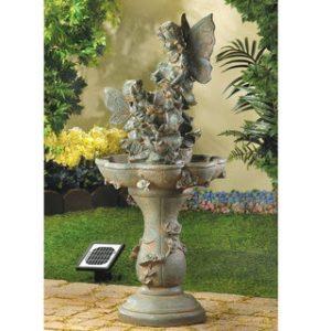 Fairies Water Fountain – Solar or Cord Power