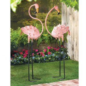 Flirty Flamingo Pair Lawn Decorations