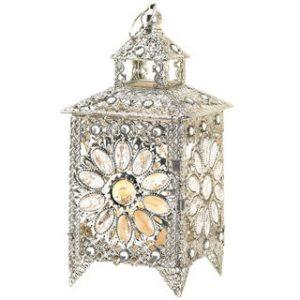 Sparkling Jewels Candle Lantern