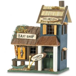 Bass Lake Lodge & Bait Shop Birdhouse