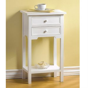 Classic Side Table – White
