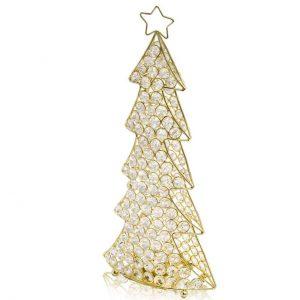Corteza Cristal Gold Christmas Tree