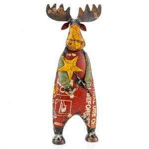 Alce Estrella Reclaimed Iron Moose