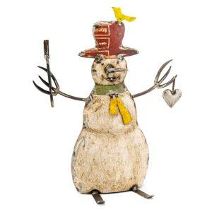 Muneco Reclaimed Iron Snowman