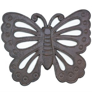 Cast Iron Butterfly Stepping Stone