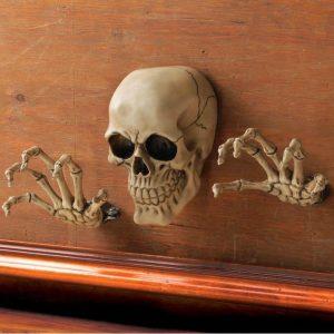 Skeleton Wall Decor Set