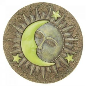 Glow-in-the-Dark Sun and Moon Stepping Stone