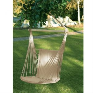 Padded Cotton Swinging Chair