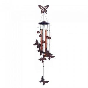 Fluttering Butterflies Metal Wind Chimes
