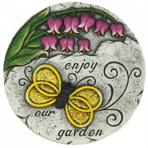Enjoy Our Garden Bumblebee Cement Garden Stepping Stone
