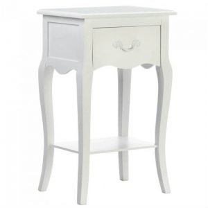 Romantic Country White Night Stand or Accent Table
