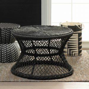 Indoor/Outdoor Rattan-Look Coffee Table