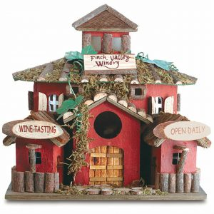Finch Valley Winery Birdhouse