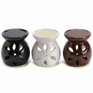 Ceramic Mini Oil Warmer Set