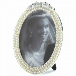 Strands of Pearls Picture Frame – 5×7