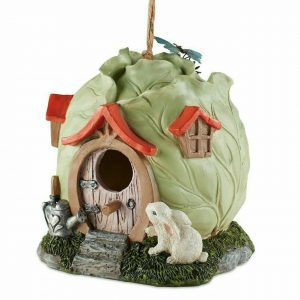 Cabbage Head Cottage Whimsical Birdhouse
