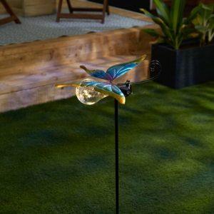 Butterfly Solar Fairy Light Garden Stake