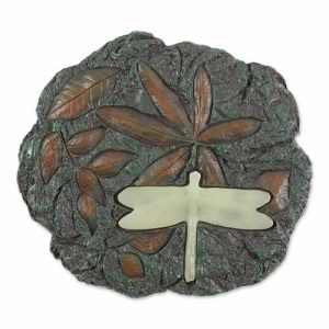 Glow-in-the-Dark Dragonfly Stepping Stone