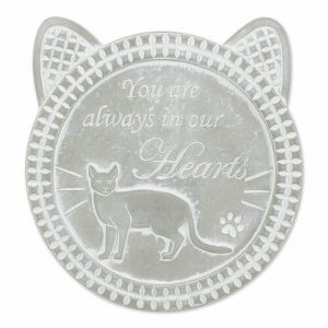 Cat Memorial Stepping Stone – Always In Our Hearts
